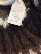 Chunky Icelandic hand knit cardigan